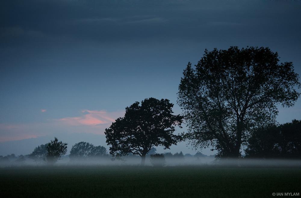Summer Mist at Dusk - Isle of Funen, South Denmark