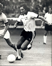 Sep. 04, 1976 - GEORGE BEST RETURNS TO THE SOCCER SCENE. PLAYS FOR FULHAM AGAINST BRISTOL ROVERS. KEYSTONE PHOTO SHOWS: GEORGE BEST pictures in action for Fulham when he returned to the soccer scene today, against Bristol Rovers. (Credit Image: © Keystone Press Agency/Keystone USA via ZUMAPRESS.com)