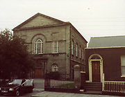 old dublin street photos 1983 Pavee Point, Great Charles Street Protestant Church Old amateur photos of Dublin streets churches, cars, lanes, roads, shops schools, hospitals
