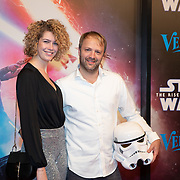 NLD/Amsterdam/20191218 - Premiere van Star Wars: The Rise of Skywalker, Frank E Hollywood en partner