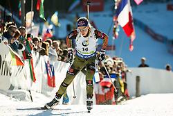 Miriam Goessner (GER)  during Women 12.5 km Mass Start at day 4 of IBU Biathlon World Cup 2015/16 Pokljuka, on December 20, 2015 in Rudno polje, Pokljuka, Slovenia. Photo by Vid Ponikvar / Sportida