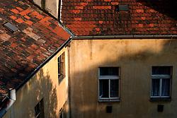 CZECH REPUBLIC BOHEMIA PRAGUE 22JUL04 - Rooftops of Prague's Vrsovice district.....jre/Photo by Jiri Rezac....Ã,© Jiri Rezac 2004....Contact: +44 (0) 7050 110 417..Mobile:  +44 (0) 7801 337 683..Office:  +44 (0) 20 8968 9635....Email:   jiri@jirirezac.com..Web:     www.jirirezac.com....Ã,© All images Jiri Rezac 2004 - All rights reserved.
