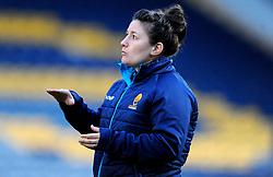 Set-Piece Coach Tracy Balmer of Worcester Valkyries- Mandatory by-line: Nizaam Jones/JMP - 01/12/2018 - RUGBY - Sixways Stadium - Worcester, England - Worcester Valkyries v Saracen Women- Tyrrells Premier 15s