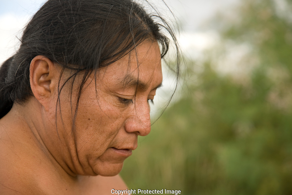 Duane Tawahongva, Hopi, Indian, Native American, Arizona, corn, field, farmer