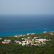 Aerial view of Riviera Maya. Quintana Roo, Mexico.