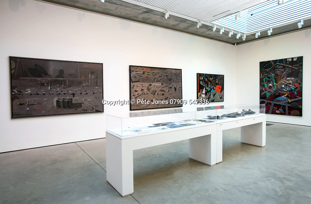 Jerwood Gallery Exhibition;<br /> 25th Anniversary install Jerwood Collection;<br /> Hastings, East Sussex;<br /> 26th January 2018.<br /> <br /> © Pete Jones<br /> pete@pjproductions.co.uk