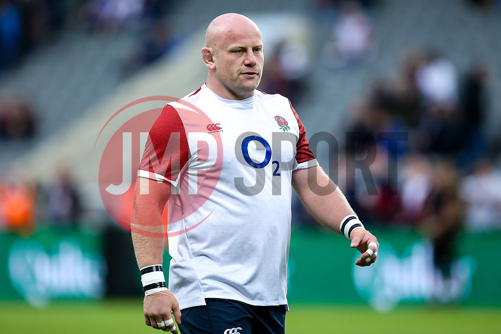 Dan Cole of England - Mandatory by-line: Robbie Stephenson/JMP - 06/09/2019 - RUGBY - St James's Park - Newcastle, England - England v Italy - Quilter Internationals