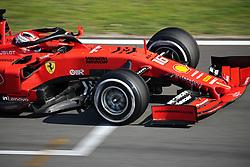 February 28, 2019 - Barcelona, Catalonia, Spain - the Ferrari of Charles Leclerc during the Formula 1 test in Barcelona, on 28th February 2019, in Barcelona, Spain. (Credit Image: © Joan Valls/NurPhoto via ZUMA Press)