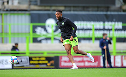 Ebou Adams of Forest Green Rovers warms up- Mandatory by-line: Nizaam Jones/JMP - 05/09/2020 - FOOTBALL - New Lawn Stadium - Nailsworth, England - Forest Green Rovers v Leyton Orient - Carabao Cup