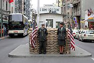 GERMANY - BERLIN - Checkpoint Charlie. PHOTO GERRIT DE HEUS