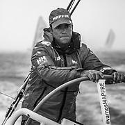 Lisbon stopover, In Port race on board Mapfre Photo by Ugo Fonolla/Volvo Ocean Race. 03 November, 2017.