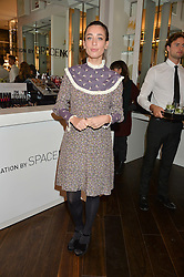 LAURA JACKSON at the launch of the Space NK Global Flagship store at 285-287 Regent Street, London on 10th November 2016.