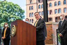 07/14/20 US Attorney Bill Powell Press Conference - Downtown Clarksburg