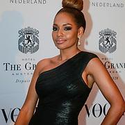 NLD/Amsterdam/20130501- Voque Queensball 2013, Winonah de Jong - Leeflang