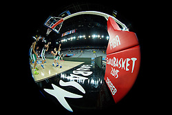 Arena during practice session of Team Slovenia at Day 3 in Group C of FIBA Europe Eurobasket 2015, on September 7, 2015, in Arena Zagreb, Croatia. Photo by Vid Ponikvar / Sportida