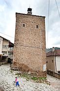 Medieval tower (kula) in Kratovo, Macedonia. © Rudolf Abraham