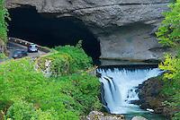 France. Ariege. Grotte Le Mas d'Azil. //  France. Ariege.  Le Mas d'Azil cave.