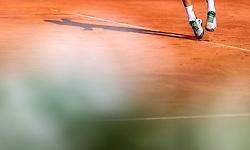 03.08.2018, Sportpark, Kitzbühel, AUT, ATP Tour, Generali Open Kitzbühel, Halbfinale, Einzel, im Bild Martin Klizan (SVK), Feature Tennis // Martin Klizan of Slovakia Feature Tennis during the singles halffinal match of the ATP Generali Open Tennis Tournament at the Sportpark in Kitzbühel, Austria on 2018/08/03. EXPA Pictures © 2018, PhotoCredit: EXPA/ JFK