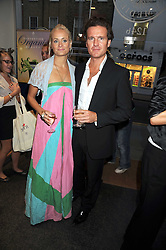 KALITA AL-SWAIDI and STEVE HALL at the Natural Beauty Honours 2008 hosted by Neal's Yard Remedies, 124b King's Road, London SW3 on 4th September 2008.<br /> <br /> NON EXCLUSIVE - WORLD RIGHTS