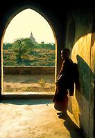 Young Monk, Bagan, Myanmar