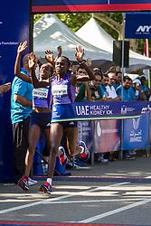 UAE Healthy Kidney 10K, Joyce Chepkurui nips Gladys Cherono at the tape to win