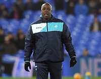 Football - 2016 / 2017 Premier League - Crystal Palace vs. Swansea City<br /> <br /> Paul Williams Swansea assistant Manager at Selhurst Park.<br /> Also England Under 20 caretaker Manager in 2016 and former Nottingham Forest Manager <br /> <br /> COLORSPORT/ANDREW COWIE