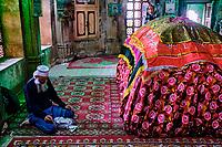 Inde, Etat de Gujarat, Ahmedabad, classé Patrimoine Mondial de l'UNESCO, mausolé d'Ahmed Shah // India, Gujarat, Ahmedabad, Unesco World Heritage city, Ahmed Shah mausoleum