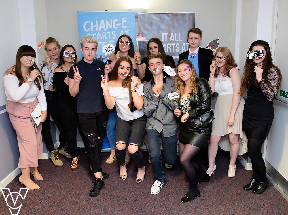 Cohort 2 - Team 3 | NCS EM1 graduation ceremony held at The Castle Theatre, Wellingborough, Northamptonshire.<br /> <br /> Picture: Chris Vaughan Photography<br /> Date: September 13, 2017