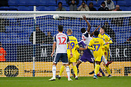 2-2, goal scored by Yoan Zouma of Bolton Wanderers  during the EFL Sky Bet League 1 match between Bolton Wanderers and AFC Wimbledon at the University of  Bolton Stadium, Bolton, England on 7 December 2019.