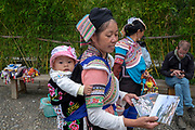 Hani Minority at Duoyishu village, Yuanyang County, in Honghe Prefecture in southeastern Yunnan province, China,