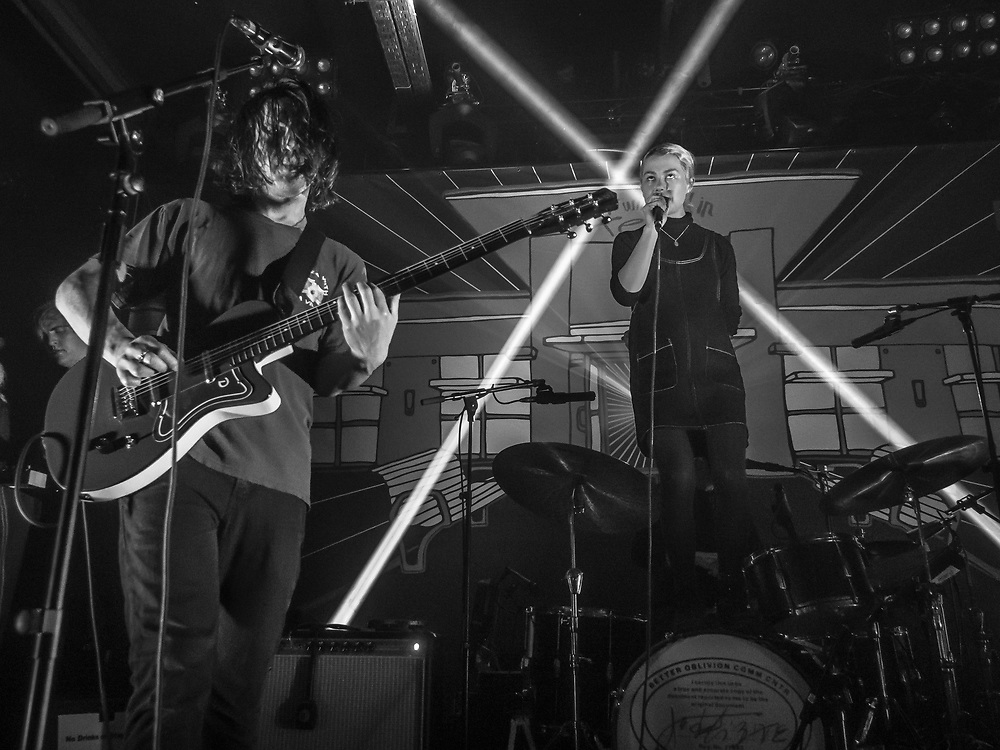 American indie-rock duo Better Oblivion Community Center at Kantine club in Cologne