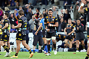 Chiefs Tupou Vaa'i reacts during the Round 1 Trans-Tasman Super Rugby match between the Western Force and the Waikato Chiefs at HBF Park in Perth, Sunday, May 16, 2021. (AAP Image/Trevor Collens) NO ARCHIVING, EDITORIAL USE ONLY