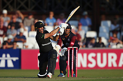Leicestershire's Neil Dexter during the Vitality Blast, north group match at the County Cricket Ground, Northampton.