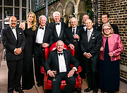 The Lindbergh Foundation board at a May, 2012 fund raiser at the Explorer's Club in New York City.  Apollo astronauts Jim Lovell, Gene Cernan, and Neil Armstrong were the featured speakers.<br /> <br /> Created by aviation photographer John Slemp of Aerographs Aviation Photography. Clients include Goodyear Aviation Tires, Phillips 66 Aviation Fuels, Smithsonian Air & Space magazine, and The Lindbergh Foundation.  Specialising in high end commercial aviation photography and the supply of aviation stock photography for advertising, corporate, and editorial use.