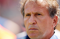 Photo: Chris Ratcliffe.<br /> Japan v Croatia. Group F, FIFA World Cup 2006. 18/06/2006.<br /> Zico, manager of Japan.