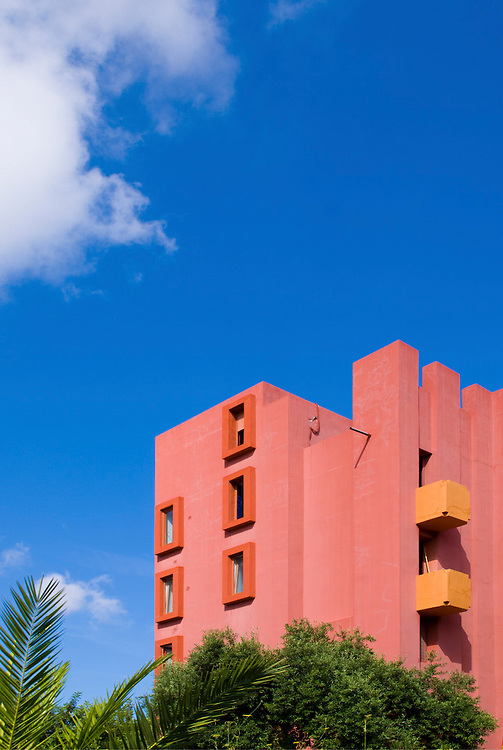 Muralla Roja. Calpe. Ricardo Bofill Architect