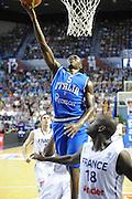PAU 27 GIUGNO 2012<br /> BASKET <br /> ITALIA SPERIMENTALE - FRANCIA<br /> NELLA FOTO DAVID COURNOOH<br /> FOTO CIAMILLO