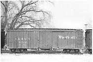 Side view of box car #3295 at Farmington.<br /> D&RGW  Farmington, NM  Taken by McCarter, M. D. - 3/22/1969