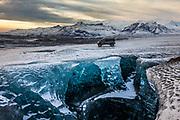 Super Sprinter on Vatnajökull Glacier