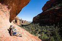 Fay Canyon Trail near Sedona, Arizona.