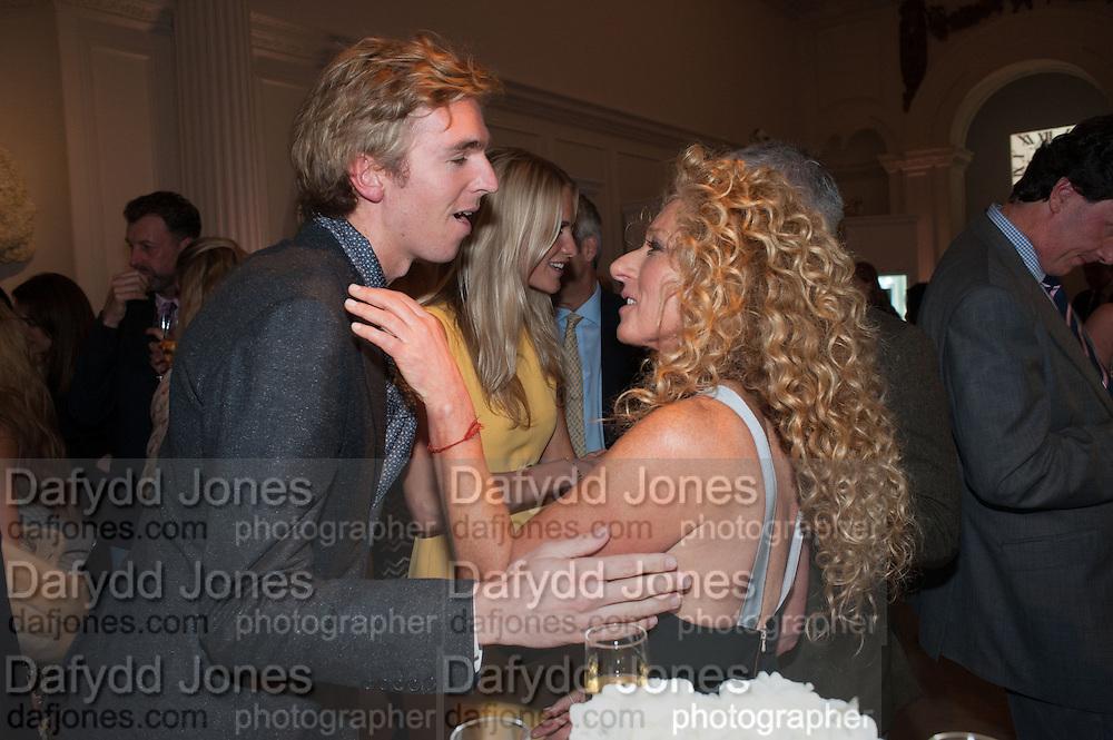 JAMES COOK; KELLY HOPPEN, Cartier Tank Anglaise launch. Kensington Palace Orangery, London.  19 April 2012.