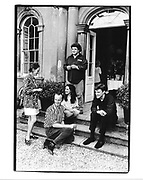 Julian Bannerman, Christine Clarkson, Johnny Shand Kydd, Susie Robinson and Lorcan O'Niell. 1992 approx. © Copyright Photograph by Dafydd Jones 66 Stockwell Park Rd. London SW9 0DA Tel 020 7733 0108 www.dafjones.com