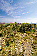 The view from Mt. Ojibway on Isle Royale National Park, MIchigan, USA