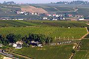 Vineyard. Winery building. Domaine de la Perriere, Sancerre, Loire, France