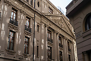 Bolsa de Comercio (Stock Exchange), Santiago, Chile.