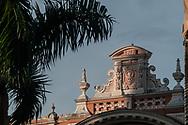 Detail of the facade of the Faculty of Medicine, in the Terreiro de Jesus, in the Pelourinho.