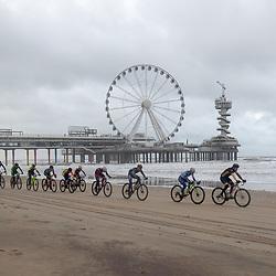 09-12-2018: Wielrennen: EK beachrace: Scheveningen