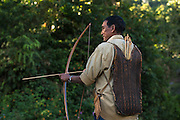 Adi Gallong bow & arrow<br /> Adi Gallong Tribe<br /> Arunachal Pradesh<br /> North East India