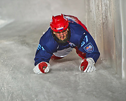 03-02-2012 SKATING: RED BULL CRASHED ICE WORLD CHAMPIONSHIP: VALKENBURG<br /> Lars Top NED during a training session<br /> ©2012-FotoHoogendoorn.nl/Peter Schalk