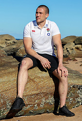 Mike Brown (Harlequins)at the beach in Umhlanga - Mandatory by-line: Steve Haag/JMP - 06/06/2018 - RUGBY - Kashmir Restaurant - Durban, South Africa - England Press Conference, South Africa Tour